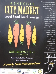 Nice graphic poster from the City Market