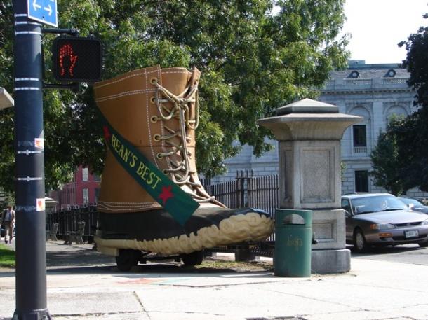 Giant LL Bean boot (Portland, ME)
