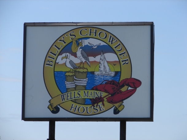 Billy's Chowder House; Wells, ME.