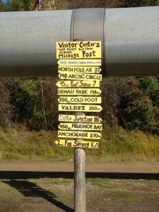 """Trans-Alaska Pipeline """"sign"""""""