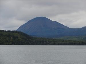 View across Kenai Lake